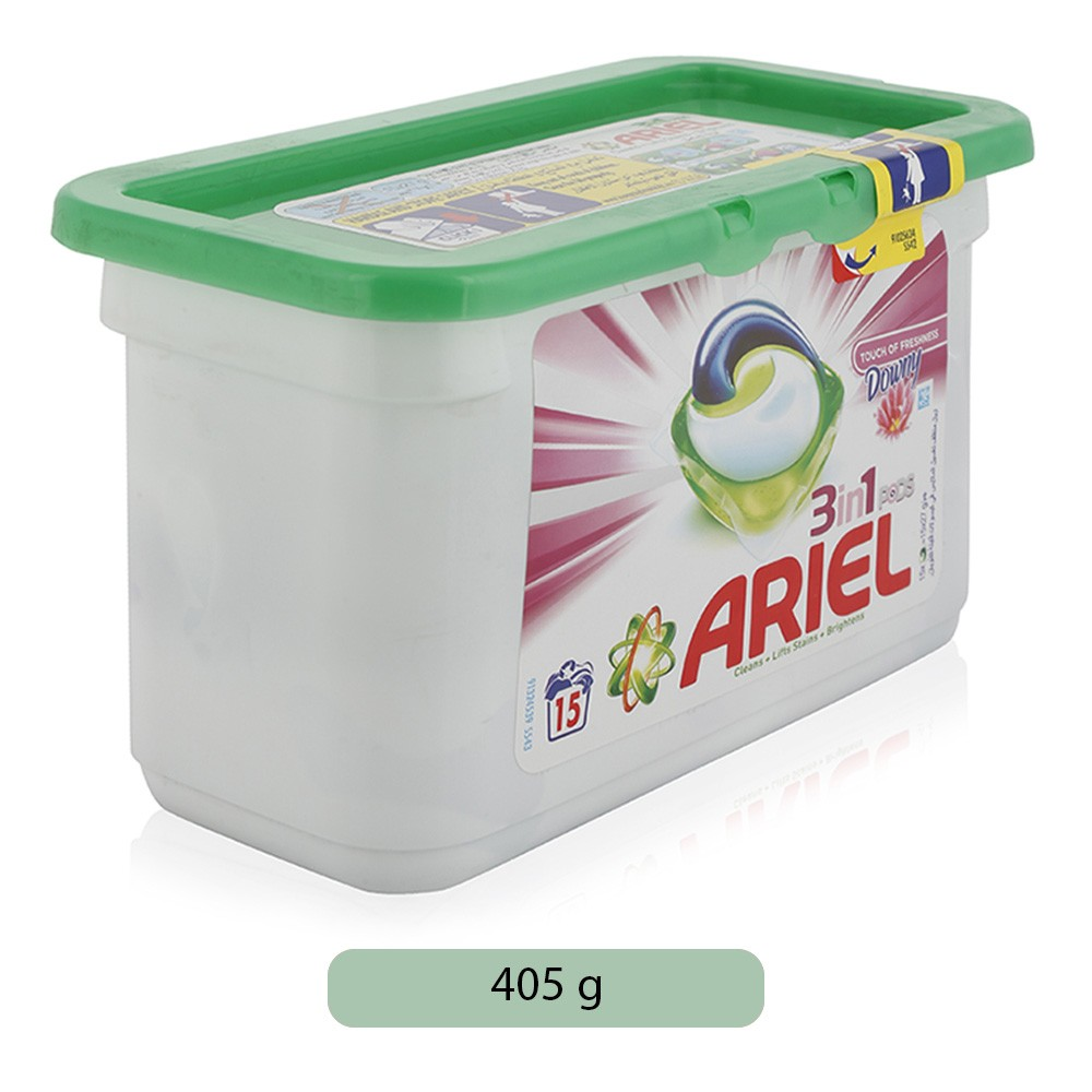 Ariel 3 in1 PODS Touch Of Downy Laundry Detergent Tablets