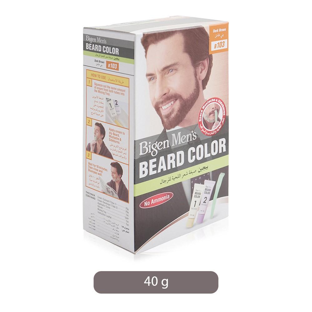 Bigen Men\'s Beard Color - 40 g, B103 Dark Brown