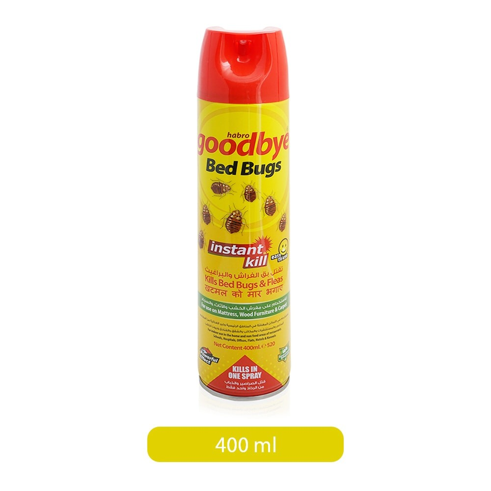 Dutch Habro Good Bye Instant Kill Bed Bugs Spray 400 Ml