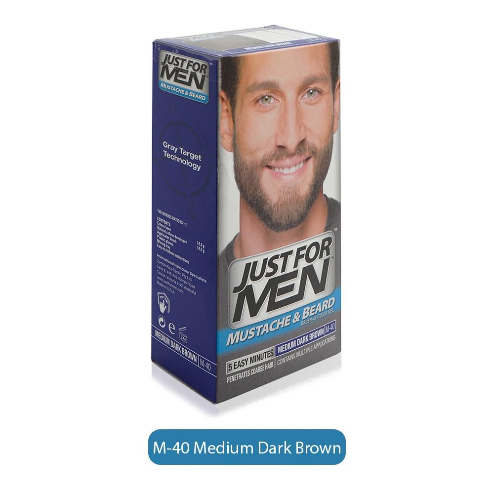 Just For Men Mustache & Beard Colour - M40 Medium Dark Brown