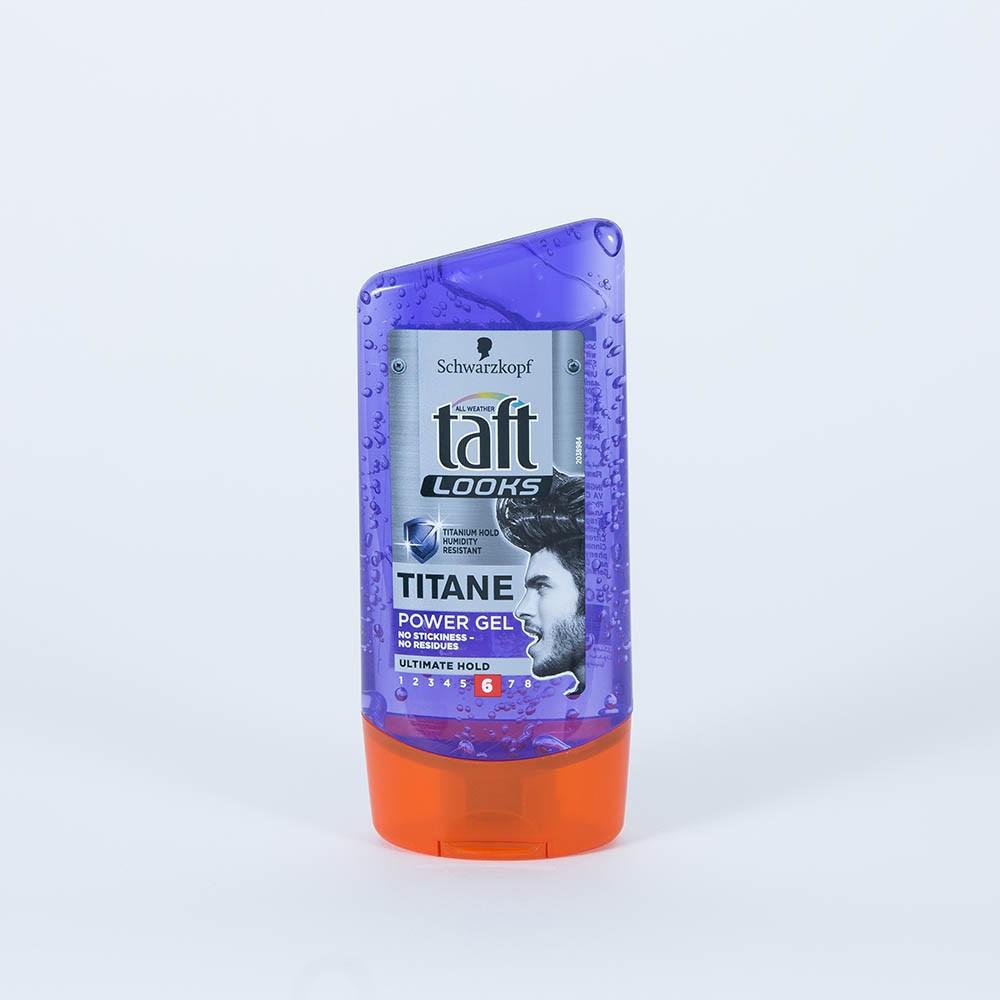taft looks titan power gel ultimate hold 150 ml