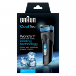 Braun CoolTec CT2S Wet & Dry Cordless Shaver with Active Cooling Technology