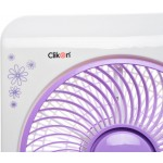 "Clikon 10"" Box Fan, CK2198"