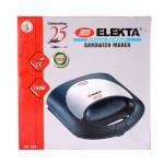 Elekta 2 Slice Sandwich Grill Maker with Chrome Top, EST-30G