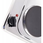 Emjoi Table Top Twin Hobs - Stainless steel, 2500W UEHP-337