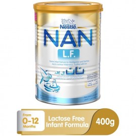 Nestle Nan Lf Starter Infant Formula For Lactose Intolerance Powder Tin 400g