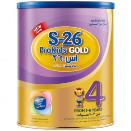 Wyeth Nutrition S26 Prokids gold Stage 4, 3-6 Years Premium Milk Powder For Kids Tin 400g With Biofactors System