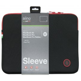 Aiino Anti-Shock Sleeve Macbook - Assorted Color AIMBSLV13-BK