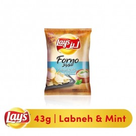 Lays Forno Labneh & Mint Baked Chips - 43 gm