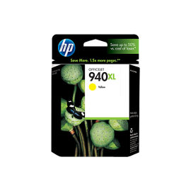 HP 940XL High Yield Yellow Original Ink Cartridge (C4909AE)