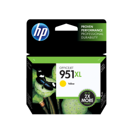 HP 951XL High Yield Yellow Original Ink Cartridge (CN048AE-BGX)