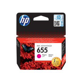 HP 655 Magenta Original Ink Advantage Cartridge (CZ111AE)