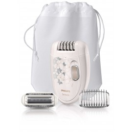 Philips Satinelle Epilator Legs & Body, W/Shaving Head  HP6423