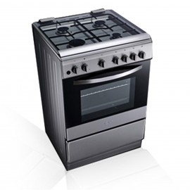 LG 90X60 Cm Gas Cooker With Rotisserie Grilling LF68V00S