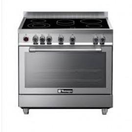 Tecnogas 90x60 Cm Ceramic Cooker N1X96EVTC 5 Burner