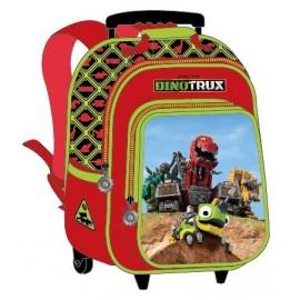 """Dino Trux School Bag 15"""" Trolley DN01-1003B"""