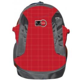 """Full Stop (2023) School Bag 18.5"""" Color Red BP FCBB-707-C16"""