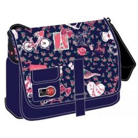 Full Stop (7357) School Bag Printed B Messenger FFBM-606-B16