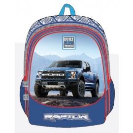 "Ford Truck School Bag 17.5"" BP Front Pocket FT01-1133B"