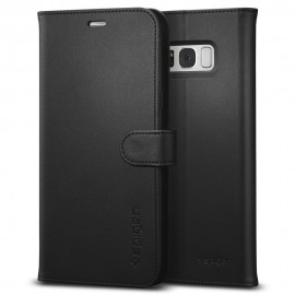 Spigen Wallet Case Black For Galaxy S8+