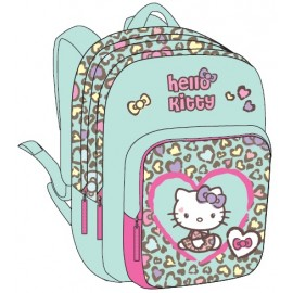"Hello Kitty School Bag 17"" Purple BackPack  HK334-56399"