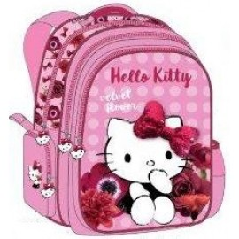 """Hello Kitty School Bag 17.5"""" Red Velvet BackPack  HK304-1078"""