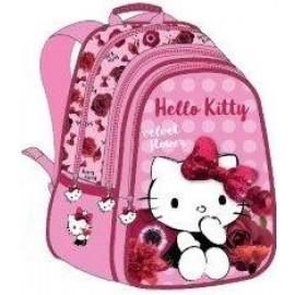 """Hello Kitty School Bag 17"""" Red Velvet BackPack  HK304-1008"""