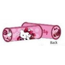 Hello Kitty Pencil Case Bag Red Velvet Round HK304-623