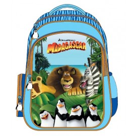 "Madagascar (7906) School Bag 15"" BackPack  MD02-1090"