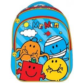 "Mr. Men School Bag 13"" BackPack  MS04-1091"