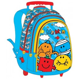 "Mr. Men (0913) School Bag 18"" Trolley MS04-1004"