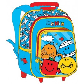 "Mr. Men School Bag 15"" Trolley MS04-1003B"