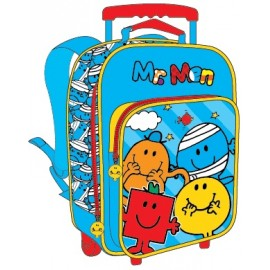 "Mr. Men School Bag 12"" Trolley MS04-1010"