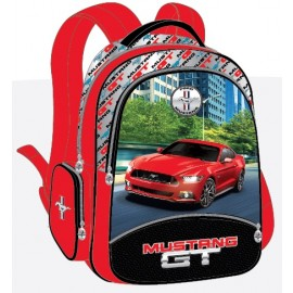 "Mustang School Bag 17"" GT 3 Compartments 3 Z BP MST42-1116B"