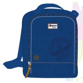 "Pause (8316) Basic School Bag 17.5"" Pink BP  PBBB-512-A16"
