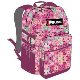 "Pause (1316) School Bag 18"" Tiny Flower BackPack  PABB-512-G"