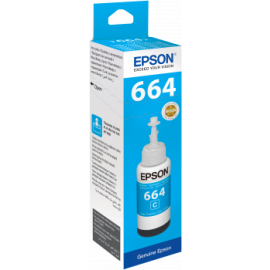 Epson Cyan Ink Bottle T6642