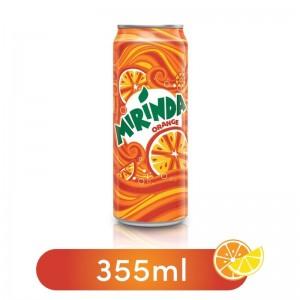 Mirinda Orange Liquid Soda Can - 355 ml