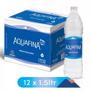 Aquafina Bottled Drinking Water, 12 x 1.5 l