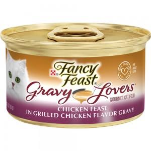 PURINA FANCY FEAST Gravy Lovers Chicken Feast in Grilled Chicken Flavor Gravy 85g