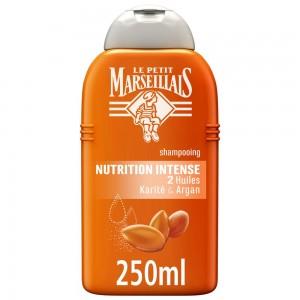 LE PETIT MARSEILLAIS, Shampoo, Intense Nutrition, Argan & Shea Oils, 250ml