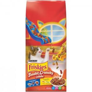 Purina Friskies Tender & Crunchy Combo Cat Food 2.86Kg, 5 Pcs