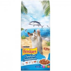Purina Friskies Seafood Sensations Cat Dry Food 2.68Kg