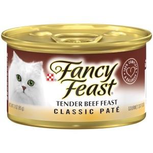 Purina Fancy Feast Classic Tender Beef Wet Cat Food 85g