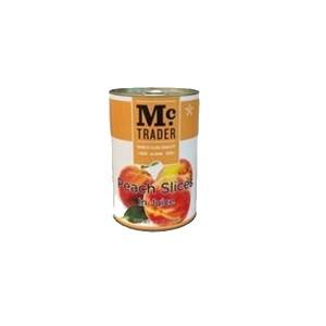 Mc Trader Peach Slices in Juice - 425 g