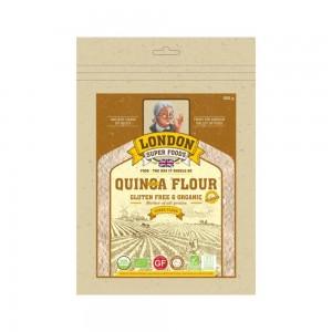 London Super Food Quinoa Pearl : Flour : Organic & Gluten Free, 500 gm