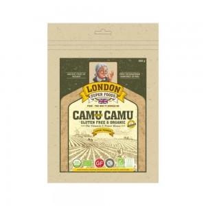 London Super Food Camu Camu Powder : Super Food Powder : Organic & Gluten Free, 400 gm
