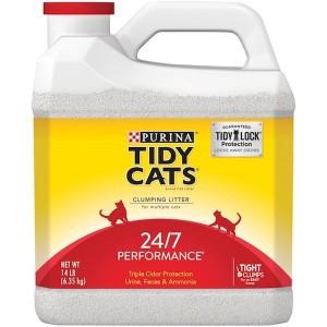 Purina Tidy Cats Performace Scoop Jug 24/7 14Lb, 3 Pcs
