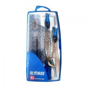 Maxi Plastic Geometry Set - 9 Pieces
