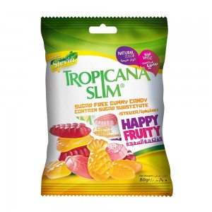 Tropicana Slim Gummy Candy, 80gm